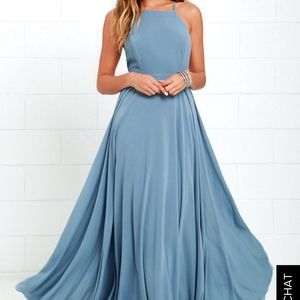 Baby blue gown Womens S